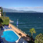 Grand Hotel Garda Lake Poolansicht
