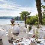 Grand Hotel Garda Lake Restaurant draußen