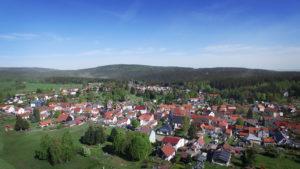 Hotel Rennsteigblick Luftaufnahme