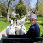 Kutscher in Allee Baden-Baden