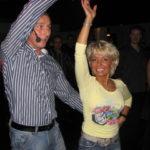Sven Reichelt mit Tanzpartnerin