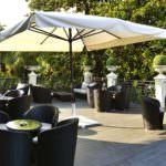 Tanzreise Terrasse Hotel Simplon